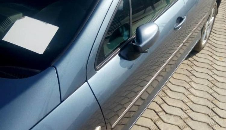 Foreign Used Peugeot 407 2006 Model Gray-0