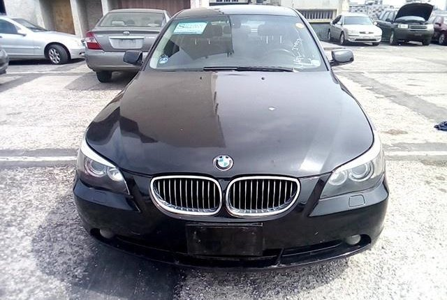 Nigeria Used BMW 5 Series 2006 Model Black-12