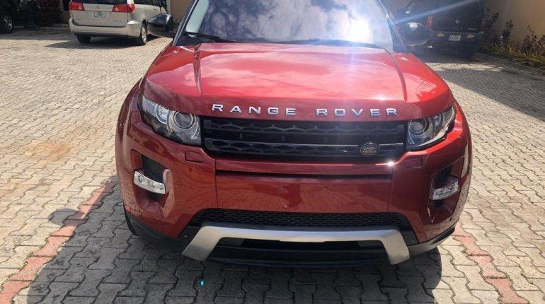 Tokunbo Land Rover Range Rover Evoque 2015 Model Red-5