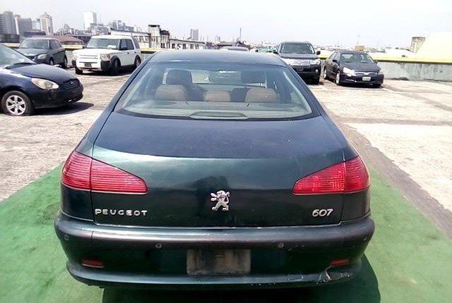 Neat Nigerian used Peugeot 607 2009 -5