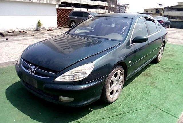 Neat Nigerian used Peugeot 607 2009 -10