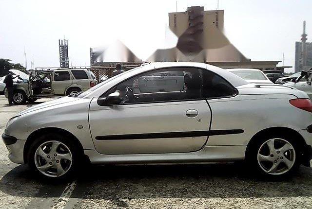 Nigeria Used Peugeot 206 2004 Model Silver-8