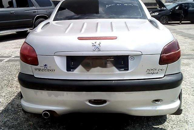 Nigeria Used Peugeot 206 2004 Model Silver-6