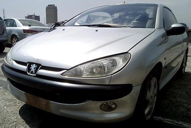 Nigeria Used Peugeot 206 2004 Model Silver-10