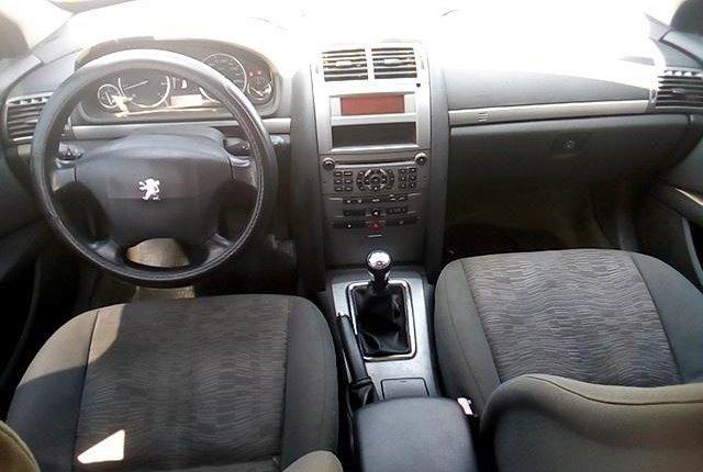 Nigeria Used Peugeot 407 2004 Model Black-3