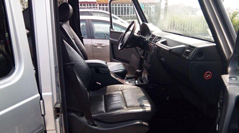 Nigeria Used Mercedes-Benz G-Class 2003 Model Silver-6