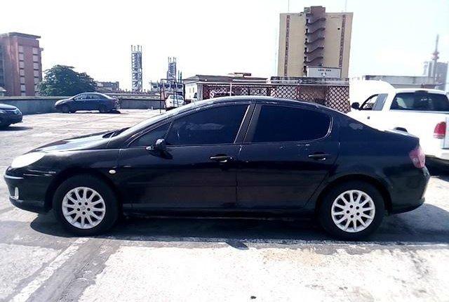 Nigeria Used Peugeot 407 2004 Model Black-8