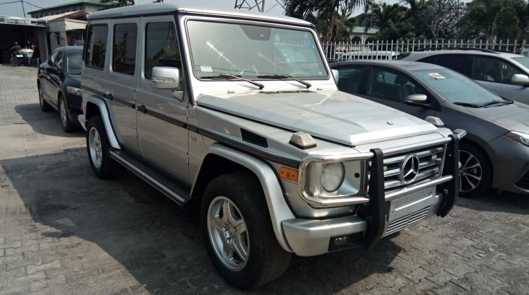 Nigeria Used Mercedes-Benz G-Class 2003 Model Silver-13