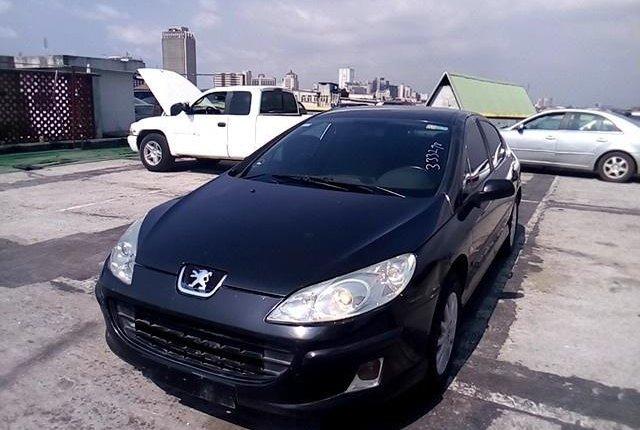 Nigeria Used Peugeot 407 2004 Model Black-13