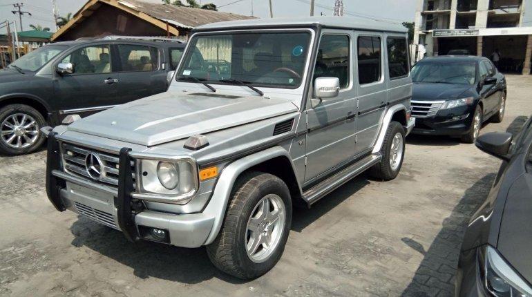 Nigeria Used Mercedes-Benz G-Class 2003 Model Silver-15