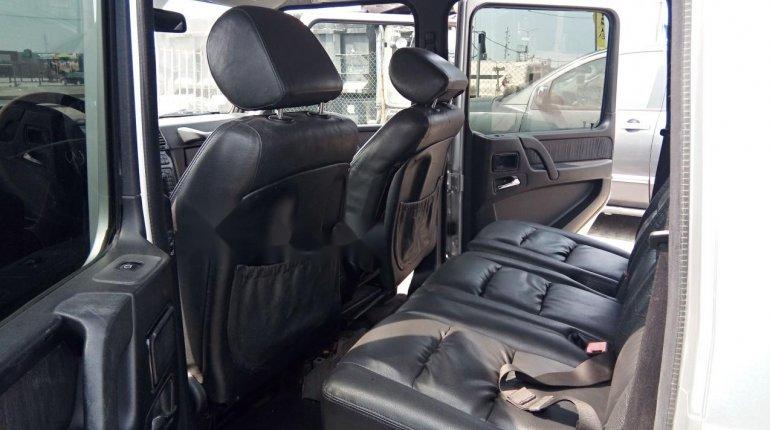 Nigeria Used Mercedes-Benz G-Class 2003 Model Silver-11