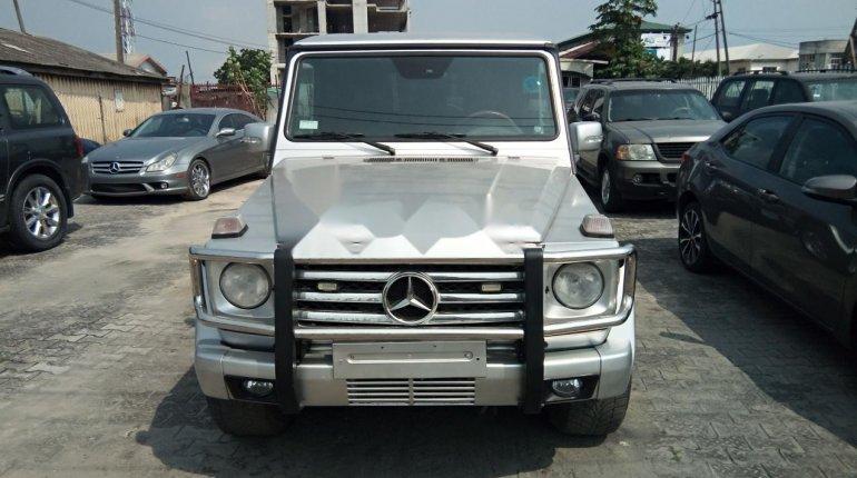 Nigeria Used Mercedes-Benz G-Class 2003 Model Silver-14