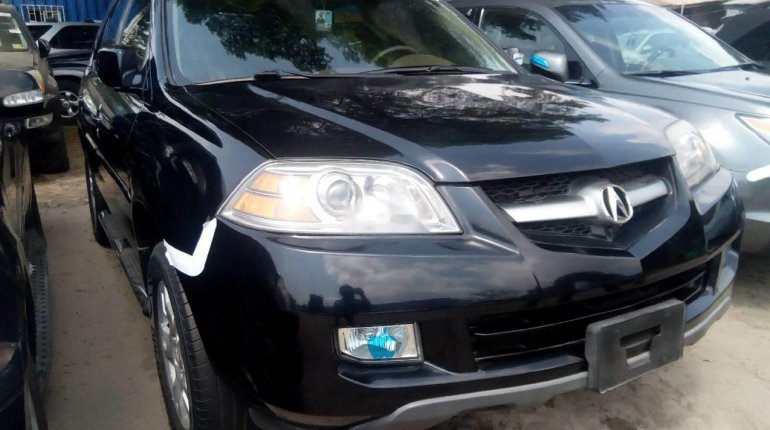 Foreign Used Acura MDX 2003 Petrol Automatic Black-4