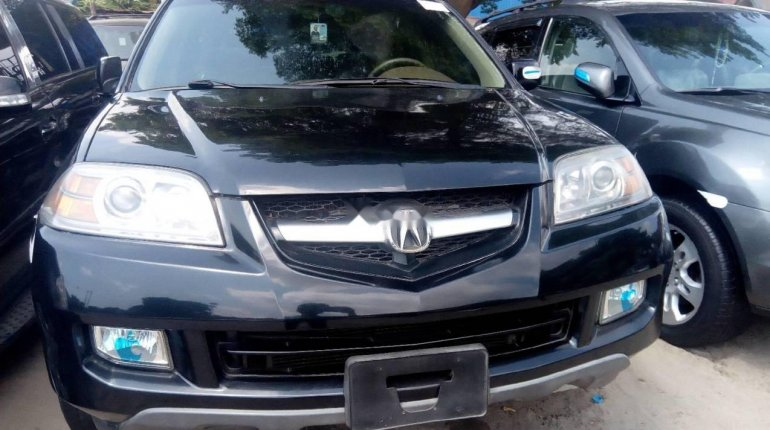 Foreign Used Acura MDX 2003 Petrol Automatic Black-5