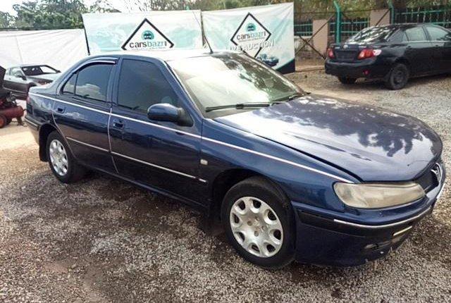 Super Clean Nigerian used Peugeot 406 2001-9