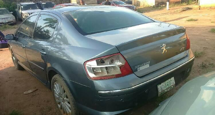 Well Maintained Nigerian used 2007 Peugeot 407-2
