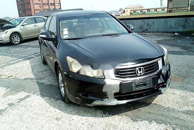 Nigeria Used Honda Accord 2008 Model Black-9