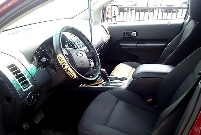Nigeria Used  Ford Edge 2008 Model Red-3