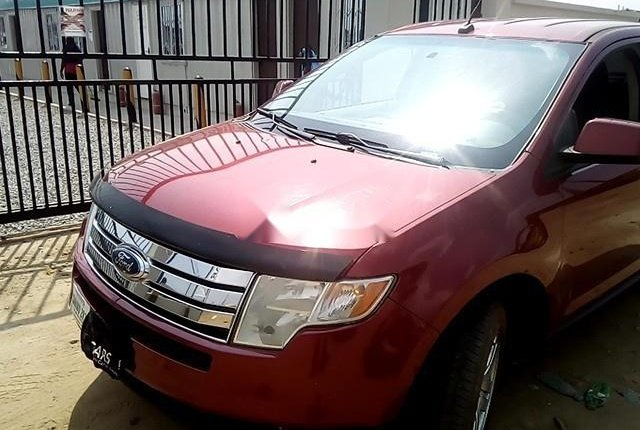 Nigeria Used  Ford Edge 2008 Model Red-10