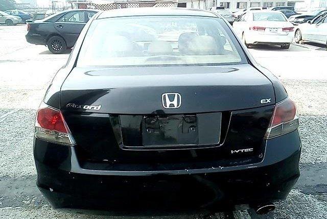 Nigeria Used Honda Accord 2008 Model Black-6