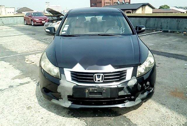Nigeria Used Honda Accord 2008 Model Black-12