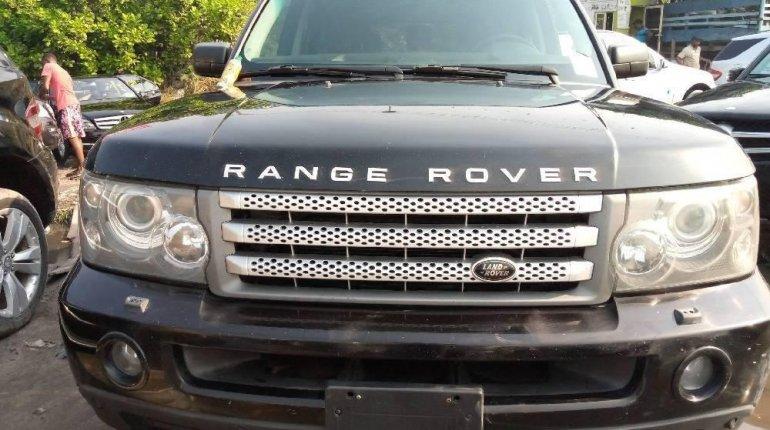 Tokunbo Land Rover Range Rover Sport 2006 Model Black-4