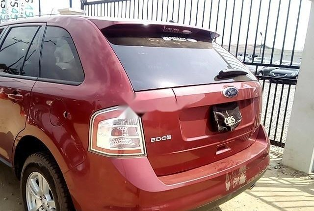 Nigeria Used  Ford Edge 2008 Model Red-5