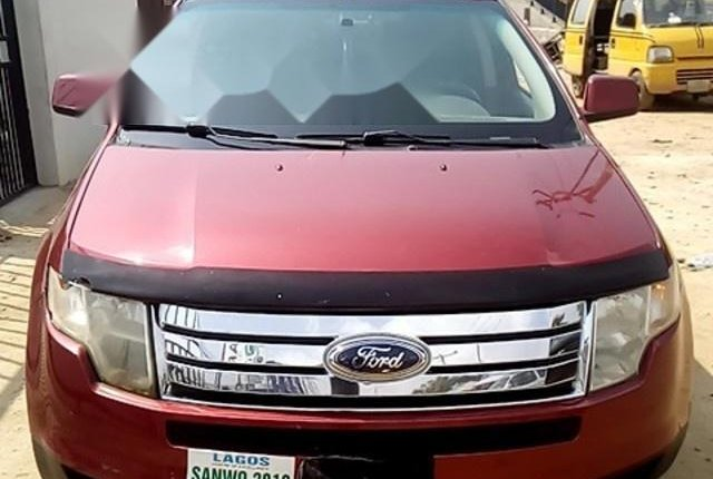 Nigeria Used  Ford Edge 2008 Model Red-13