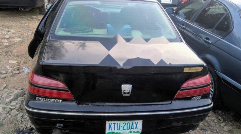 Nigeria Used Peugeot 406 2004 Model Black-4