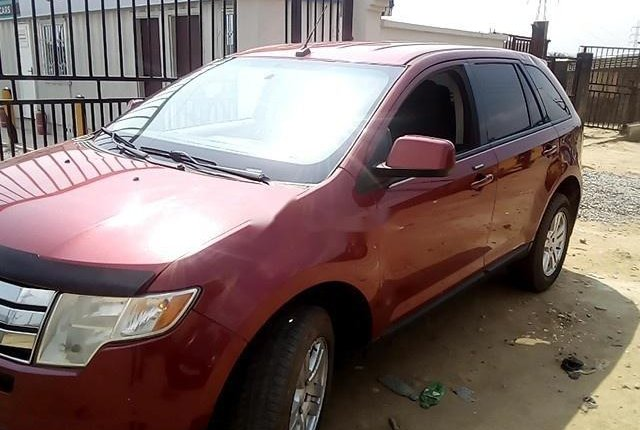 Nigeria Used  Ford Edge 2008 Model Red-8