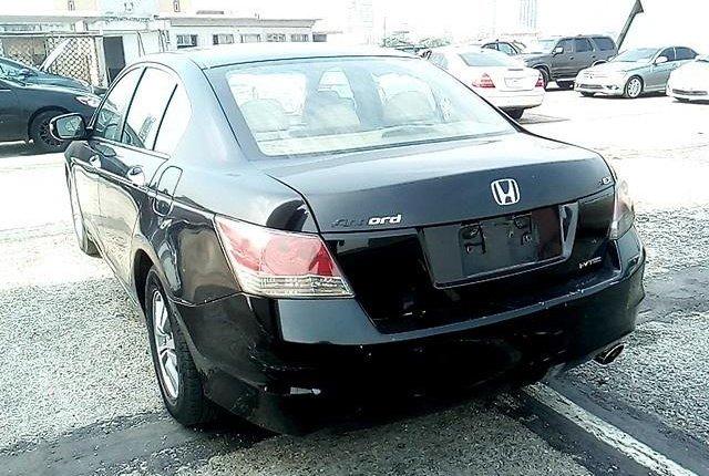 Nigeria Used Honda Accord 2008 Model Black-5