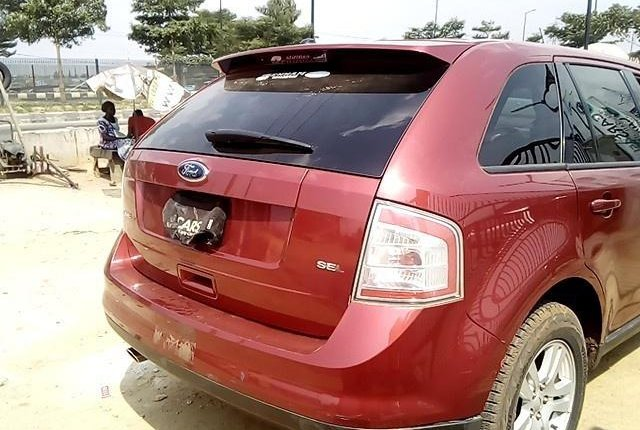 Nigeria Used  Ford Edge 2008 Model Red-4