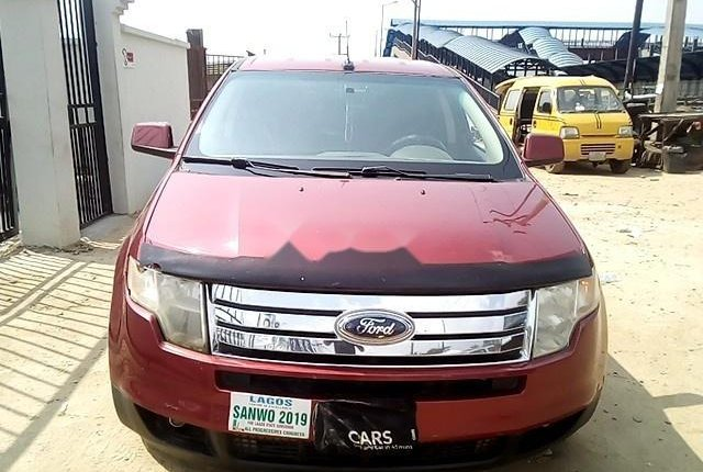 Nigeria Used  Ford Edge 2008 Model Red-12