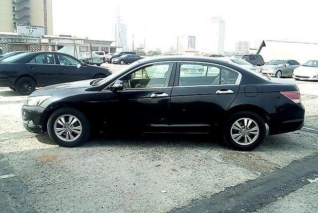 Nigeria Used Honda Accord 2008 Model Black-8