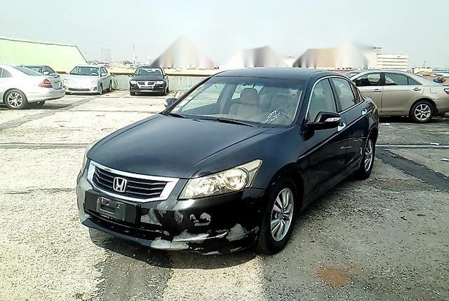 Nigeria Used Honda Accord 2008 Model Black-13