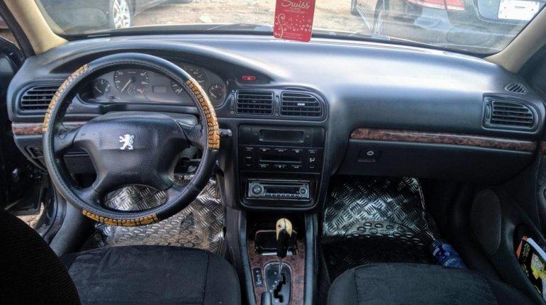 Nigeria Used Peugeot 406 2004 Model Black-3