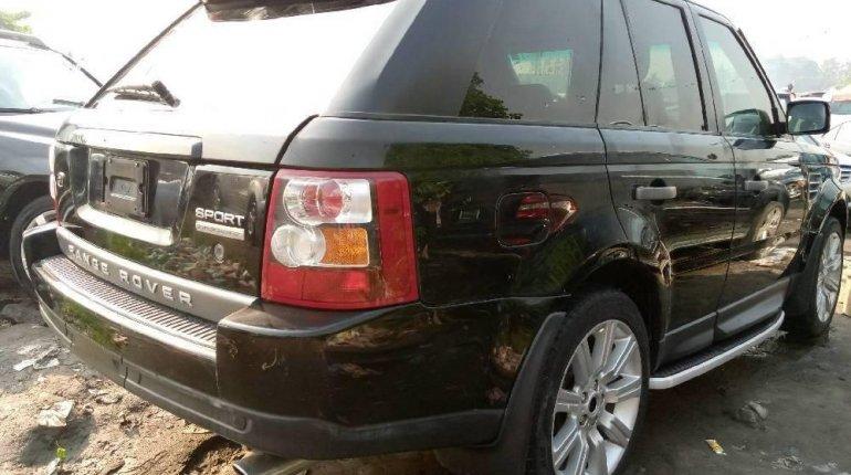 Tokunbo Land Rover Range Rover Sport 2006 Model Black-3