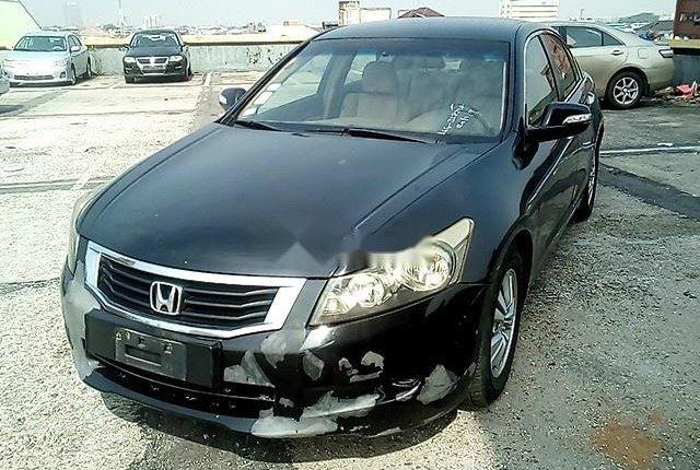 Nigeria Used Honda Accord 2008 Model Black-11