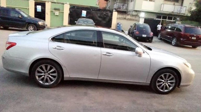 Foreign Used Lexus ES 2008 Model Silver-6