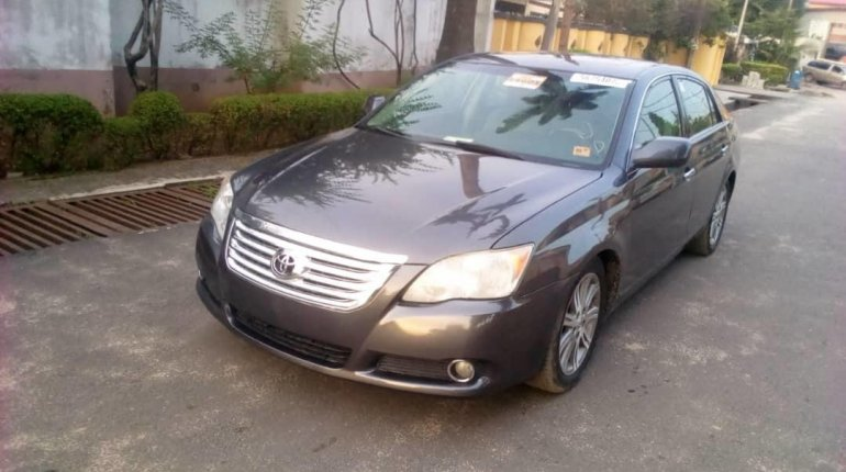 Foreign Used Toyota Avalon 2008 Model Blue-4