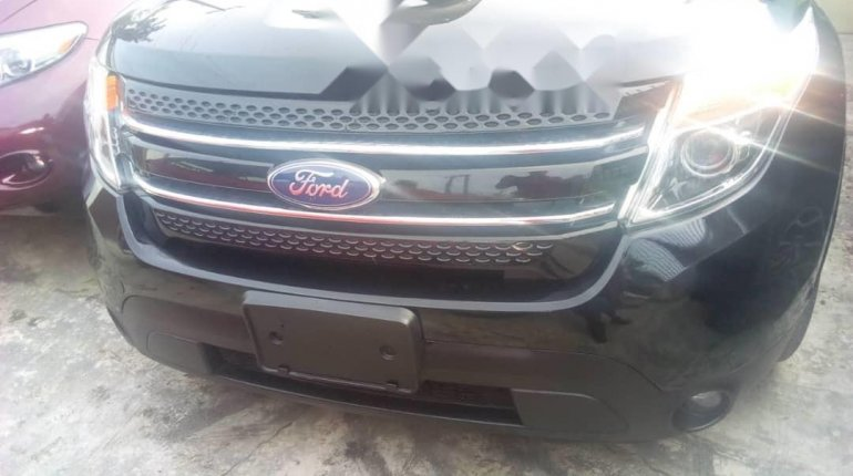 Foreign Used Ford Explorer 2012 Model Black-0