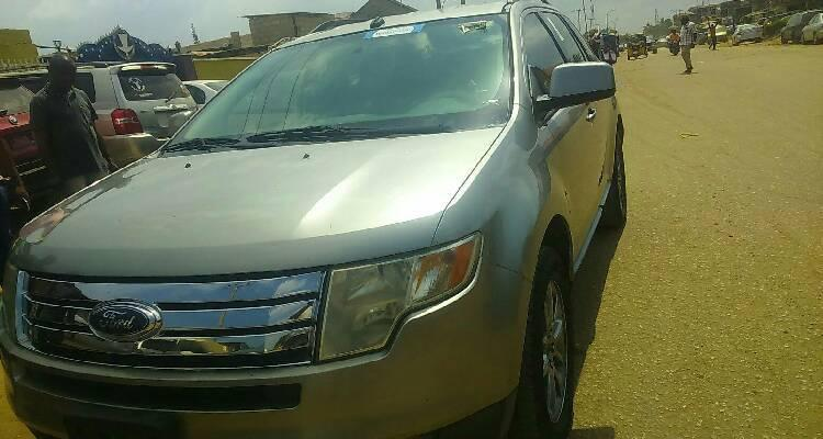 Foreign Used Ford Edge 2008 Model Silver-3