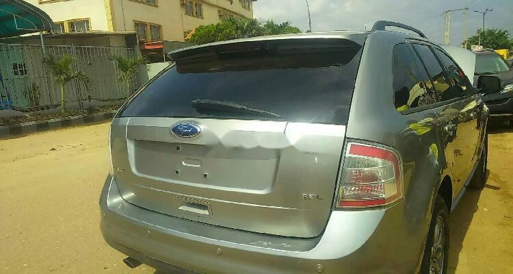 Foreign Used Ford Edge 2008 Model Silver-5