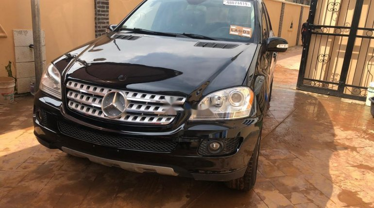 Foreign Used Mercedes-Benz ML350 2007 Model Black-5