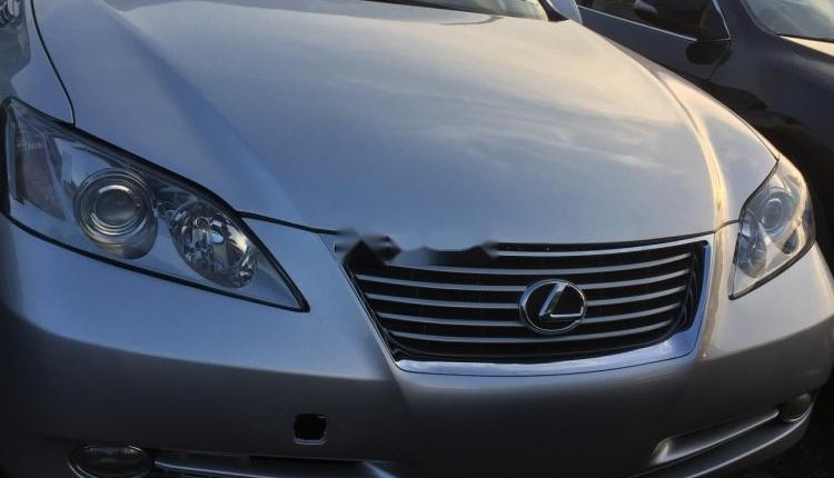 Foreign Used Lexus ES 2008 Model Silver-4