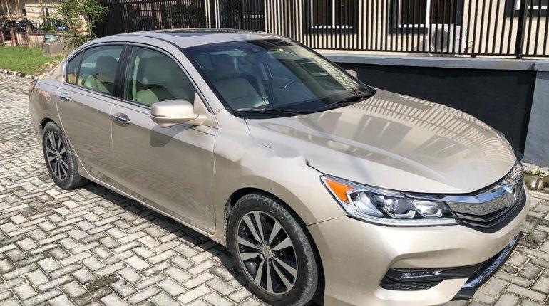 Nigeria Used Honda Accord 2015 Model Gold-13