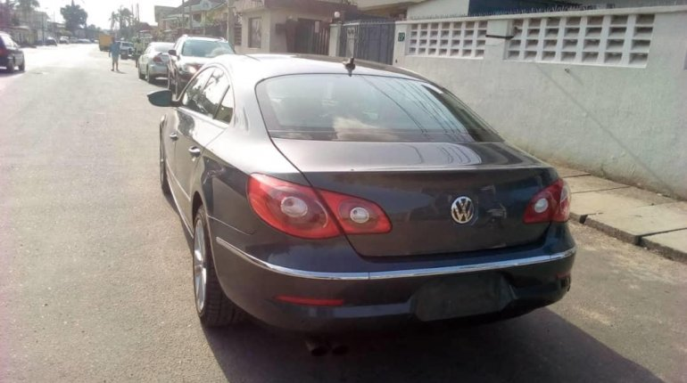 Foreign Used Volkswagen CC 2010 Model Gray-7