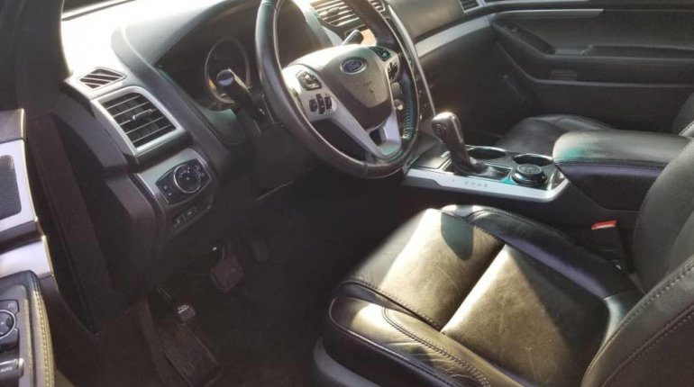 Foreign Used Ford Explorer 2013 Model Gray-1