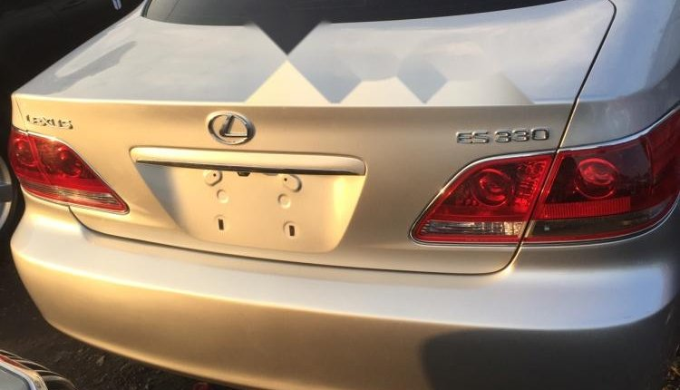 Foreign Used Lexus ES 2006 Model Silver-2