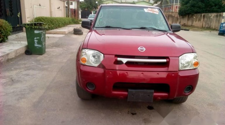 Foreign Used Nissan Frontier 2004 Model Red-10